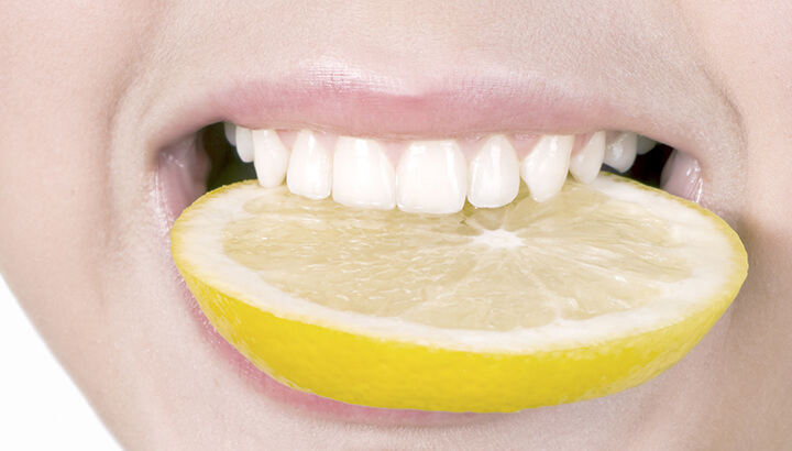 Lemon Water Cayenne Drink for oral health